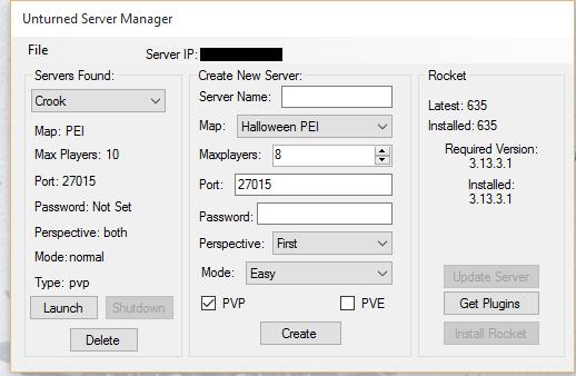 Unturned Server Manager | Se7enSins Gaming Community